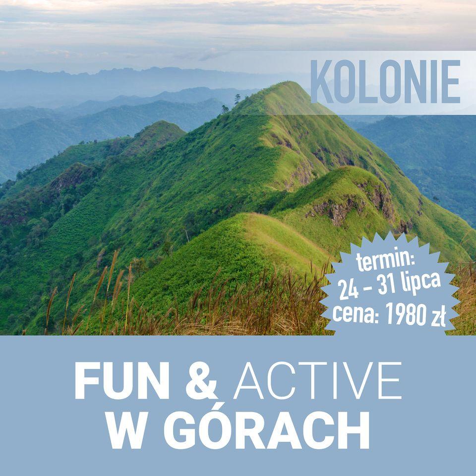 Kolonie Fun & Active w górach