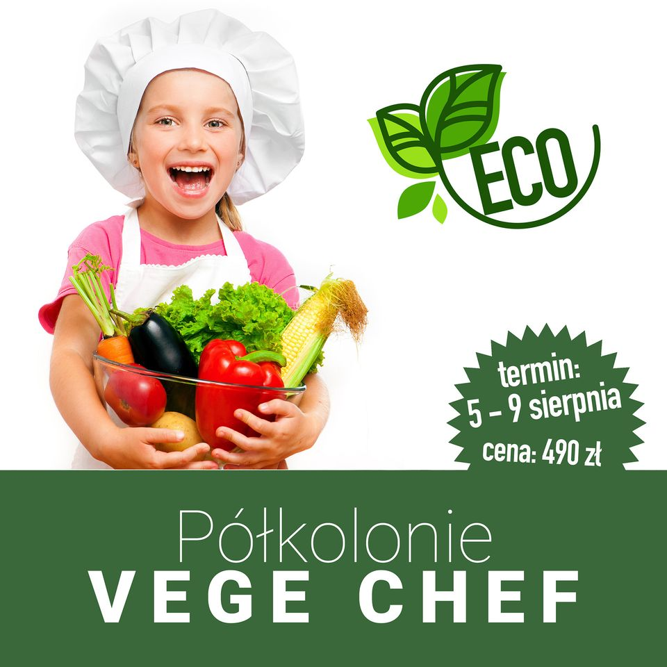Półkolonie kulinarne Vege Chef