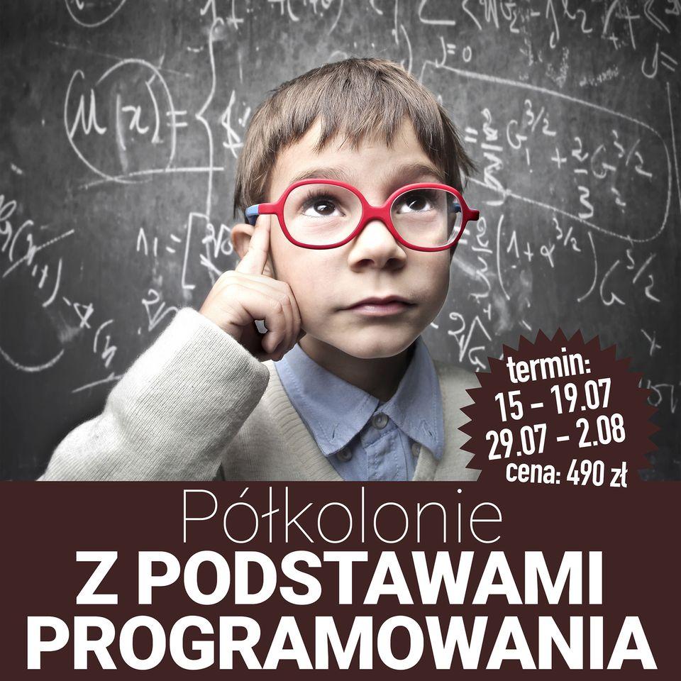 Półkolonie z podstawami programowana Programming Academy